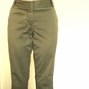 J.Crew Factory City Fit Stretch Chino Green Pants